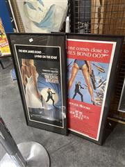 Sale 8888 - Lot 2090 - James Bond Poster Bills The Living Day Lights; For Your Eyes Only (2)