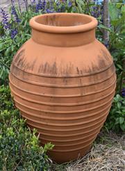 Sale 8950G - Lot 45 - Large Terracotta pot