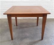Sale 9071 - Lot 1100 - Elm Occasional Table (h:77 x w:100 x d:100cm)