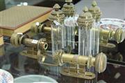 Sale 8324 - Lot 61 - Antique Pair of Kerosene Lamps