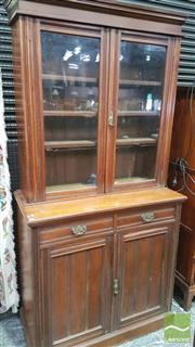 Sale 8375 - Lot 1024 - Late Victorian Bookcase