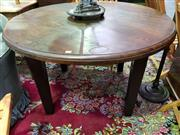 Sale 8562 - Lot 1048 - Oak Round Supper Table