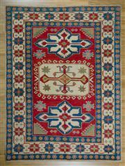 Sale 8657C - Lot 40 - Afghan Kazak 275cm x 193cm