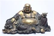 Sale 8689 - Lot 22 - Seated Metal Buddha Figure
