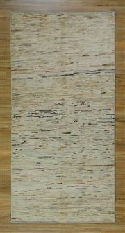 Sale 8672C - Lot 12 - Afghan Chobi Stripe 234cm x 117cm