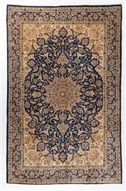 Sale 8740C - Lot 62 - A Persian Esfahan From Isfahan Region 100% Wool Pile On Cotton Foundation, 330 x 210cm