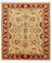 Sale 8760C - Lot 82 - An Afghan Chobi Top Quality, Elegant Design, Natural Dyes, 243 x 212cm