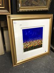 Sale 8861 - Lot 2041 - William Sotham - Poppiesacrylic 51 x 51cm (frame), signed