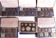 Sale 9015 - Lot 19 - Set Of Six NZ Mint and Proof Sets: 1968, 3x1969, 1970 and 1975
