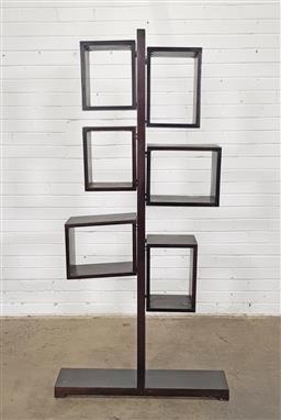 Sale 9146 - Lot 1002 - Open form shelving (h:180 x w:75cm)