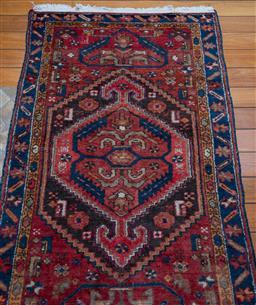 Sale 9191H - Lot 18 - Red Tone Persian Carpet, size 110 x 194 cm