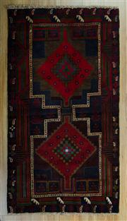 Sale 8657C - Lot 41 - Persian Baluchi 148cm x 85cm