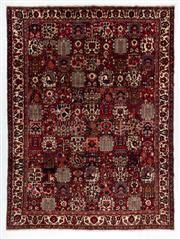 Sale 8760C - Lot 6 - A Persian Bakhtiyari And Classic Garden Design, 100% Wool On Cotton, Classed As Prerevolution Weave , 420 x 312cm