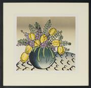 Sale 8779 - Lot 2015 - Aileen Brown (1946 - ) - Stocks and Tulips, 92 36.5 x 39cm