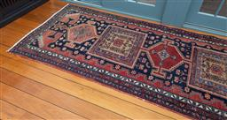 Sale 9191H - Lot 29 - Red/Blue Tone Persian Carpet, size 297 x 110 cm