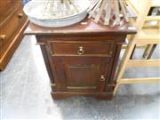 Sale 7943A - Lot 1514A - Single Drawer Bedside Cabinet