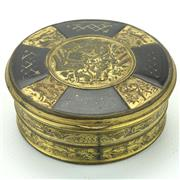 Sale 8390A - Lot 57 - Tortoiseshell & Gilt Metal Mounted Snuff Box