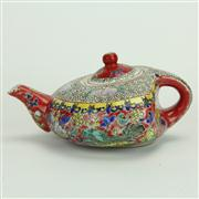 Sale 8393B - Lot 67 - Famille Rose Teapot