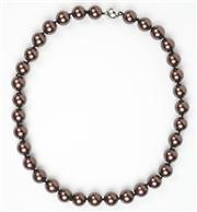 Sale 8477A - Lot 26 - SHELL BASE NECKLACE: with magnetic clasp, length 48cm.