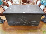 Sale 8480 - Lot 1061 - Metal Trunk