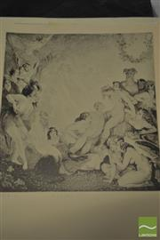 Sale 8495 - Lot 2065 - Collection of Norman Lindsay Prints (10 of The White Peacock) (14)