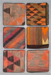 Sale 8499C - Lot 75 - 6 x Persian Pillow Cases 40cm x 40cm