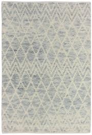 Sale 8651C - Lot 22 - Colorscope Collection; Moroccan Light Blue/Cream Handknotted Rug, Origin: India, Size: 160 x 230cm, RRP: $1299