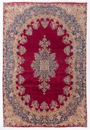 Sale 8790C - Lot 10 - A Persian Kerman 100% Wool Pile, 340 x 290cm