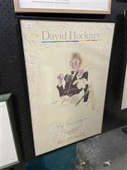 Sale 8924 - Lot 2007 - David Hockney, The Tate Gallery Poster, 1980
