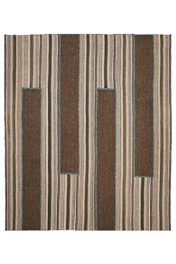 Sale 9149C - Lot 37 - PERSIAN ALEPH FLATWEAVE, 257X300cm