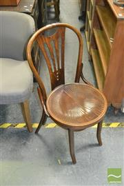 Sale 8440 - Lot 1054 - Single Bentwood Chair