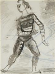 Sale 8510 - Lot 588 - Francis Lymburner (1916 - 1972) - Model, 1960 41 x 30.5cm