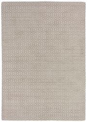 Sale 8651C - Lot 23 - Colorscope Collection; Handloomed All Cotton - Taupe/Cream Rug, Origin: India, Size: 160 x 230cm, RRP: $799