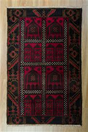 Sale 8657C - Lot 43 - Persian Baluchi 148cm x 85cm