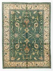 Sale 8760C - Lot 22 - An Afghan Chobi Top Quality, Elegant Design, Natural Dyes, 370 x 274cm