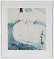 Sale 8858H - Lot 58 - John Olsen (1928 - ) - The French Bath 54 x 51cm