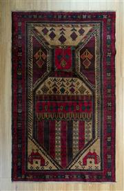 Sale 8657C - Lot 44 - Persian Baluchi 153cm x 92cm
