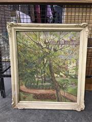 Sale 8750 - Lot 2083 - M. Greenwick - Botanical Gardens oil on canvas (AF), signed lower left