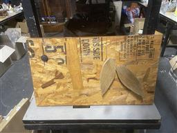 Sale 9101 - Lot 2088 - Rustic Decorative Timber Panel