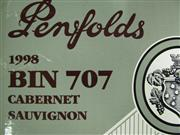 Sale 8340A - Lot 680 - 6x 1998 Penfolds Bin 707 Cabernet Sauvignon, South Australia - original box