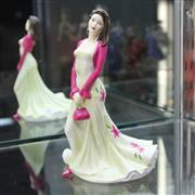Sale 8336 - Lot 13 - Royal Doulton Figure Pretty Ladies Collection Loving Thoughts