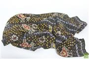 Sale 8521 - Lot 129 - Indonesian Ikat Decorated with Cockerels