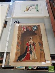 Sale 8552 - Lot 2084 - Quantity of (4) George Baxter Prints (largest 35 x 26.5cm)