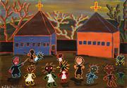 Sale 8583 - Lot 581 - Harry Wedge (1957 - 2012) - Untitled, 1997 35 x 49.5cm
