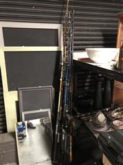 Sale 8789 - Lot 2279 - Collection Fishing Rods