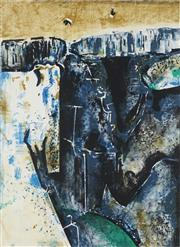 Sale 8838 - Lot 508 - Fred Williams (1927 - 1982) - Waterfall 45 x 59cm