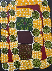 Sale 8288A - Lot 75 - Tjuruparu Geoffrey Watson (1940 - ) - Untitled, 2006 135 x 98cm (framed & ready to hang)