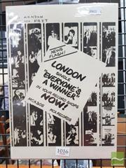 Sale 8421 - Lot 1016 - Vintage and Original London EVERYONES A WINNER Promotional Poster (29.5cm x 21cm)