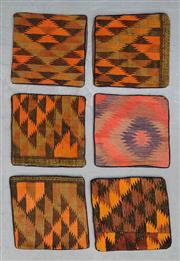 Sale 8499C - Lot 77 - 6 x Persian Pillow Cases 40cm x 40cm