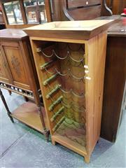 Sale 8657 - Lot 1044 - Pine Wine Rack